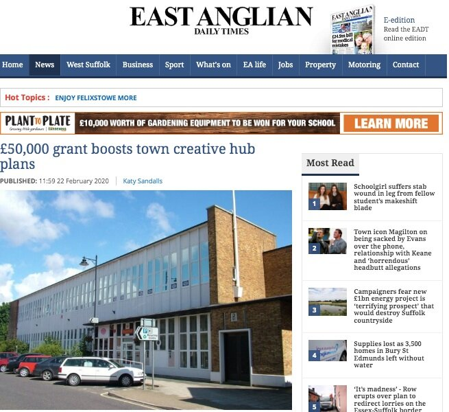 Good News In The East Anglian Daily Times